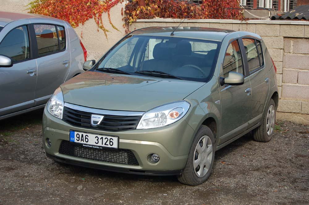 dacia sandero diesel a logan pick up novinky autokaleidoskop. Black Bedroom Furniture Sets. Home Design Ideas
