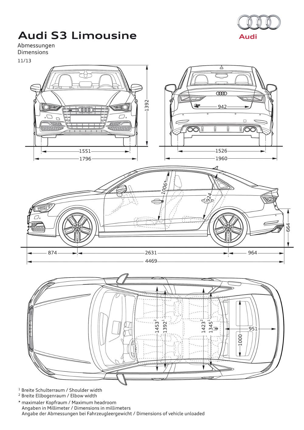 Audi s3 sportovn limuz na v r novinky autokaleidoskop for Carros para planos arquitectonicos